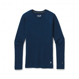 Women's Merino 250 baselayer crew bleu